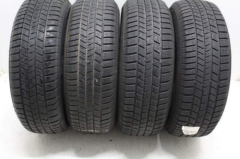 Kit di 4 gomme usate invernali 235/55/19 Continental