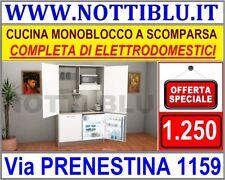 Cucina Monoblocco L 124 cm IN PROMOZIONE _ PRONTA CONSEGNA