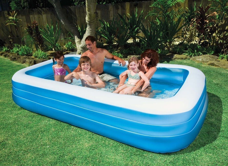 Top 10 inflatable pools ebay for Quick up pool 120 hoch