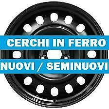 NF26 4 cerchi in ferro 15 pollici PEUGEOT 1007 307 SW BREAK