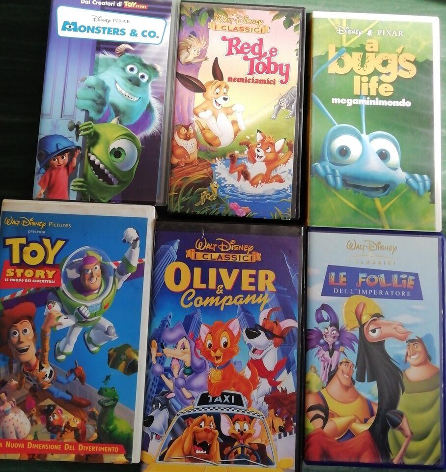 VHS originali Walt Disney 7