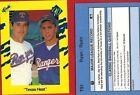 Nolan Ryan Single Baseball Cards