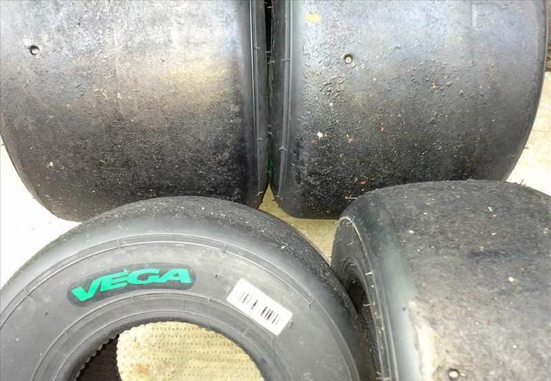 Gomme kart usate 60 100 125 cc 2