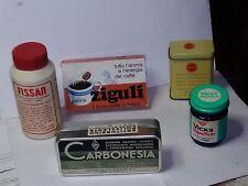 Scatole medicinali vintage epoca 2° metà del 900 - 1 A SCELTA