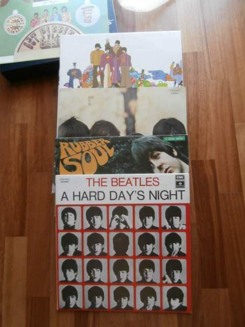 Dischi in vinile the beatles collection 2
