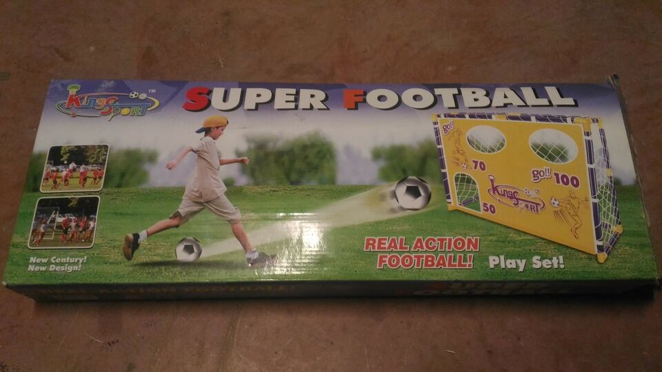 Super football play set, gioco calcio