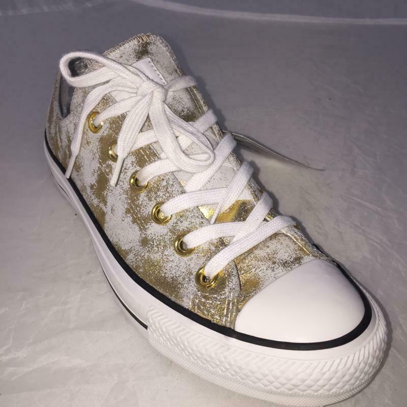 Sneakers donna converse all star rich gold