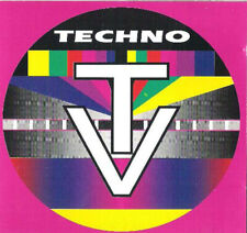 Techno TV cd compilation originale 1993 artisti vari