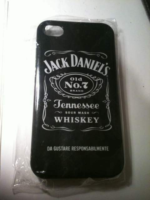 Cover iPhone 4 o 4s Jack Daniels