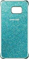 Custodia Glitter originale per Samsung Galaxy S6 Edge Plus, Blu