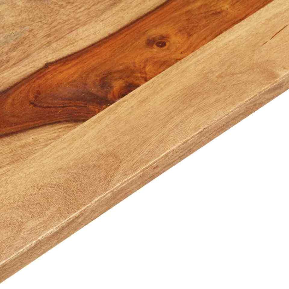 Piano Tavolo in Legno Massello di Sheesham 15-16 mm 60x140 cm 5