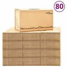 Scatole in Cartone per Trasloco XXL 80 pz 60x33x34 cm