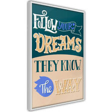 Poster - Dreams Know the Way