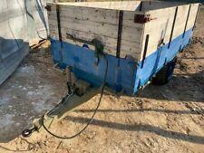 Rimorchio agricolo 35 quintali con sponde modello pesante