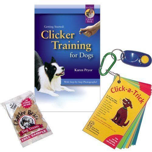 Karen Pryor Getting Started Clicker Training For Dogs Kit