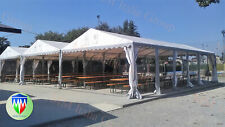 Tendoni Gazebo 8 x 12 platino mm italia in pvc 550 Ignifugo