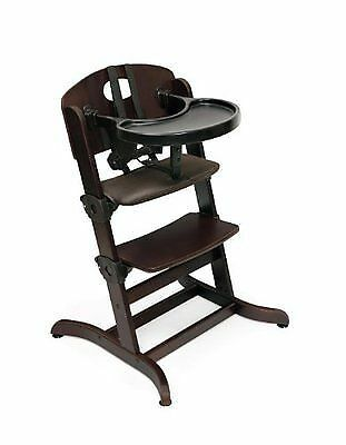 The Embassy High Chair 00936 from Badger Basket Toys offers parents yet  another classy  sturdy high chair solution  Like similar styles from OXO  and Stokke   Top 6 Wooden Booster High Chairs   eBay. High Chair Like Stokke. Home Design Ideas