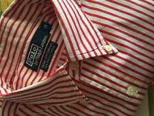 Ralph Lauren Camicia a Righe Originale TG M