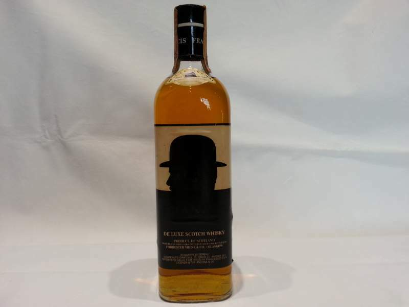 FRANCIS Scotch WHISKY De Luxe 75 cl 40° anni '80 vintage
