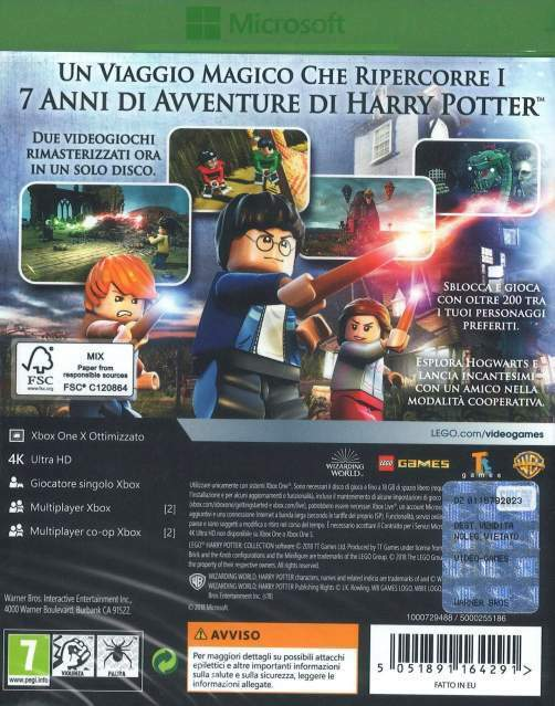 LEGO Harry Potter Collection (1-4 Anni + 5-7 Anni) - XBOX One 2