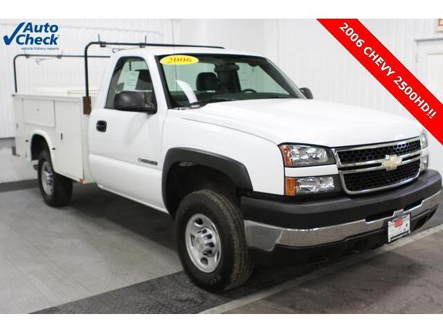 06 Chevy C2500 Regular Cab Knapheide Utiltiy Box 6 0l V8
