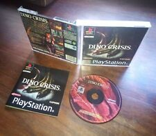 Dino crisis ps1 psx playstation 1 completo