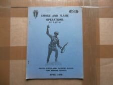 Us army infantry school - smoke & flame operations manual