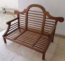 Struttura divano in legno teak per esterno o interno