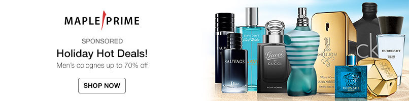 Holiday Hot Deals! Mens colognes up to 70% off