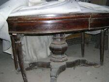 Tavolo ovale allungabile in noce Luigi Filippo 800