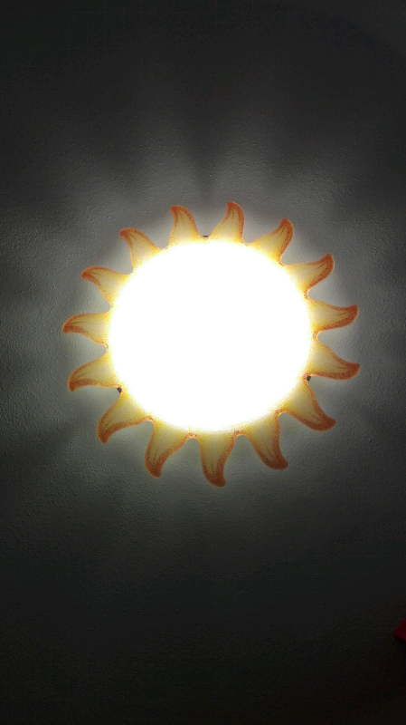 Lampada soffitto parete-soffitto