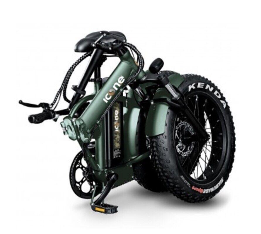 Fat bike pieghevole ebike nuovo 2