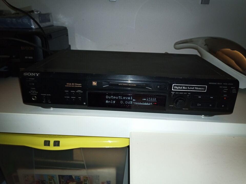 Sony mini disc md-je520 registratore lettore 5