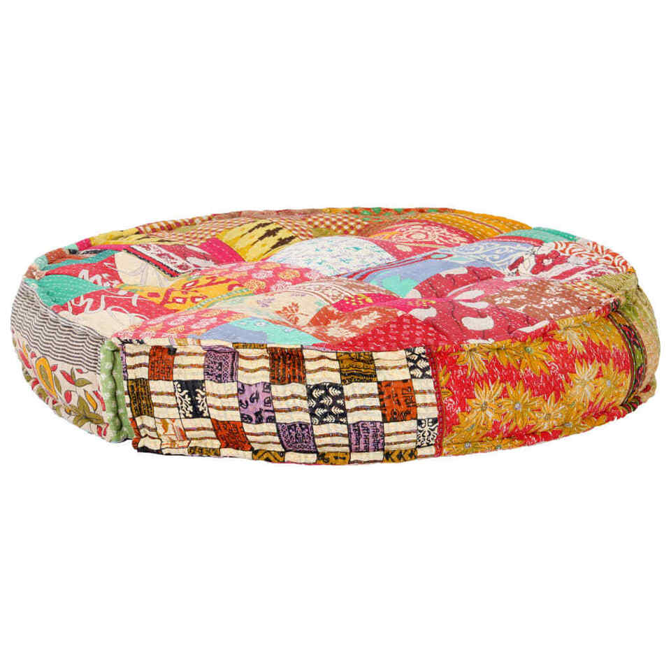 Pouf 100x20 cm in Tessuto Patchwork 4