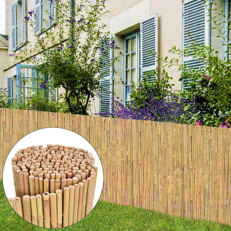 Recinzione in Bambù 300x100 cm 2