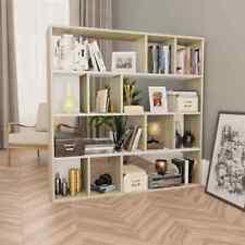Libreria/Divisorio Bianco Rovere Sonoma 110x24x110cm Truciolato