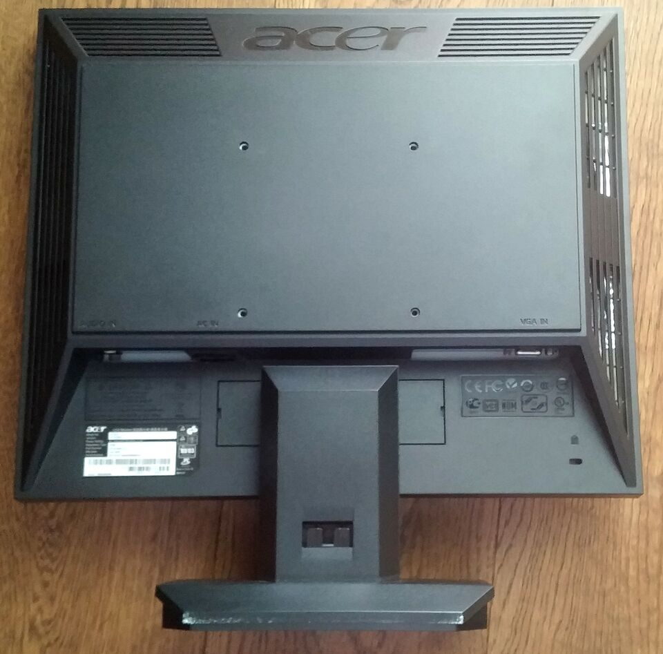 Monitor pc 17 pollici acer