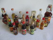 Mignon liquori - 21 bottigliette di liquore piene, tutte diverse