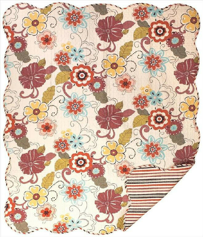 Floral Throws