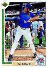 Upper Deck Ken Griffey Jr 9.5 Baseball Trading Cards