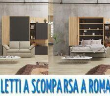 Letto a scomparsa divano salone-letti a roma-via gallia 92