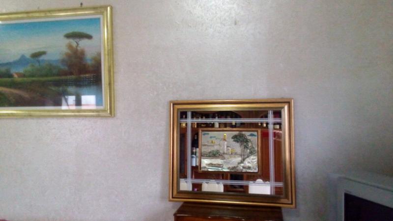 Quadro argento 925 specchio 60x72 cornice oro 3
