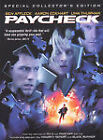 Paycheck (DVD, 2004, Widescreen) (DVD, 2004)