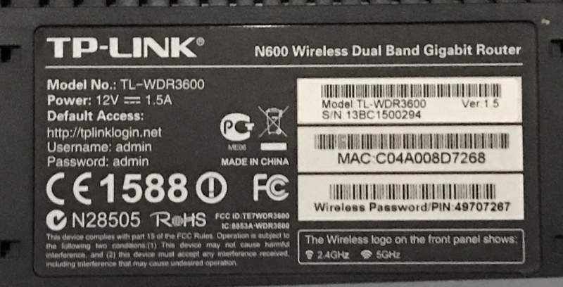 Access Point TP-LINK N600 Modem Router 5