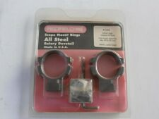 Redfield - all steel scope mount rings- rotary dovetails