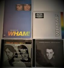 WHAM! COLLECTION CD/DVD by george michael