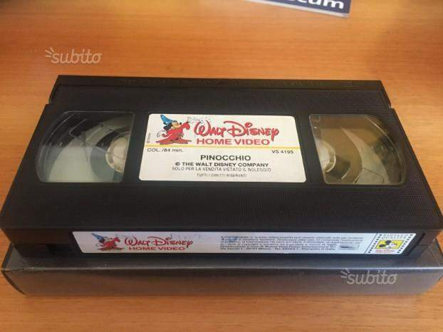 Videocassette VHS Disney, Harry Potter e altri 6