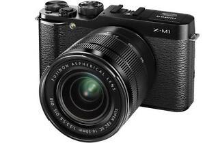 Fujifilm X series X-M1 Vs. Nikon D Series D800