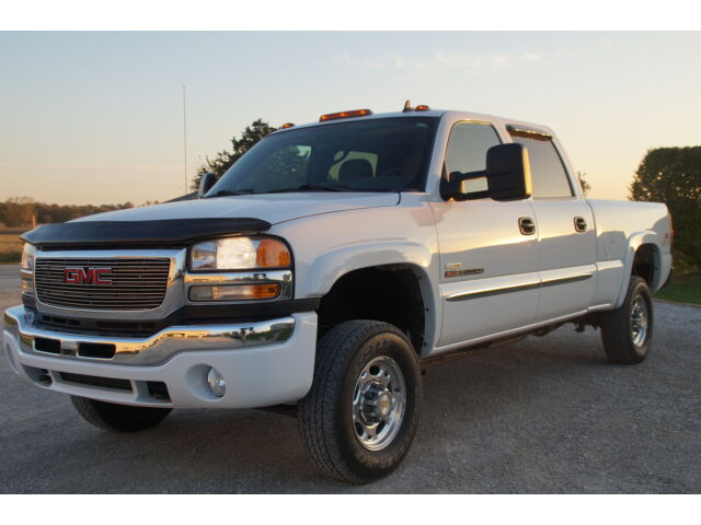2006 gmc sierra 2500hd 4x4 duramax crew 89k low miles used gmc sierra 2500 for sale in wellman. Black Bedroom Furniture Sets. Home Design Ideas