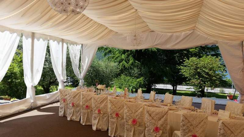 Tendoni Gazebo per Matrimoni Eventi, Catering MM Italia 5